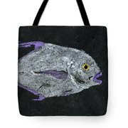 Gyotaku African Pompano Tote Bag by Captain Warren Sellers