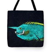 Gyotaku Mu Mu Tote Bag