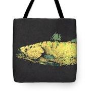 Gyotaku Snook Tote Bag by Captain Warren Sellers