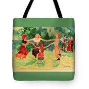 Gypsies Dancing Tote Bag