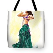 Gypsy Tote Bag by Brandy Woods