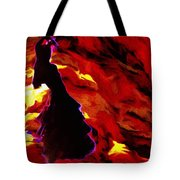 Gypsy Flame Tote Bag