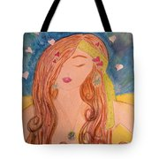 Gypsy Girl 2 Love To The World Tote Bag