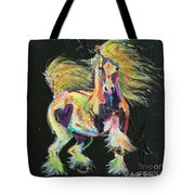 Gypsy Gold Pony Tote Bag