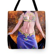 Gypsy Tote Bag by Kevin Lawrence Leveque