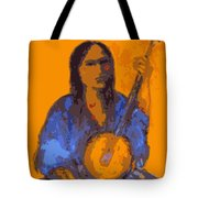 Gypsy Music Tote Bag by Johanna Elik