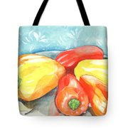 Gypsy Peppers Tote Bag