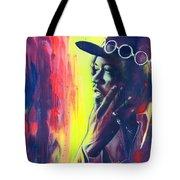 Gyspy Sun And Rainbows Tote Bag