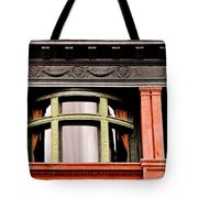 H Between The Columns Tote Bag