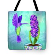 H Is For Hummingbird Tote Bag