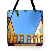 Habana Condos Tote Bag