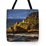Haceta Head Light 2 Tote Bag