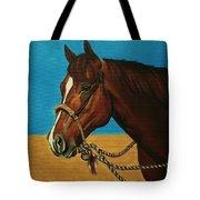 Hackamore Horse Tote Bag