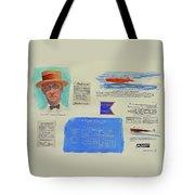 Hacker Boat Poster Tote Bag
