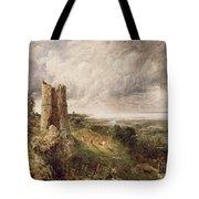 Hadleigh Castle Tote Bag by John Constable