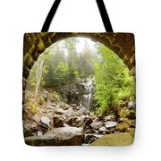 Hadlock Falls Under Carriage Road Arch Tote Bag