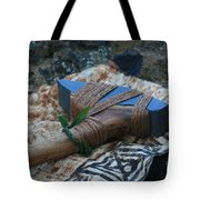 Hafted Hawaiian Adze Wailea Maui Hawaii Tote Bag
