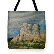 Hagar Qim Domination Tote Bag