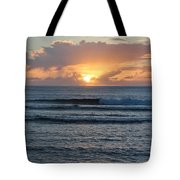 Hagatna Bay Sunset Tote Bag