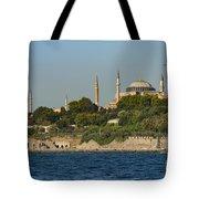 Hagia Sophia And Blue Mosque Tote Bag
