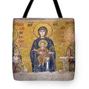 Hagia Sophia Mosaic Tote Bag