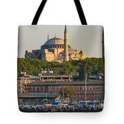 Hagia Sophia On The Bosphorus  Tote Bag