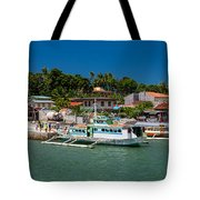 Hagnaya's Port And Fishing Village Tote Bag