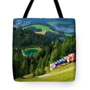 Hahnenkamm - Kitzbuehel Tote Bag