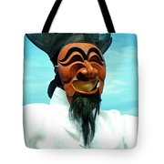 Hahoe Mask Tote Bag