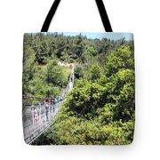 Haifa Hanging Bridge Tote Bag