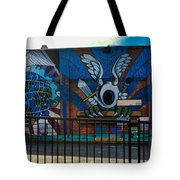 Haight Ashbury Mural Tote Bag
