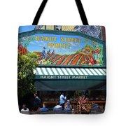 Haight Steet Market San Francisco Tote Bag