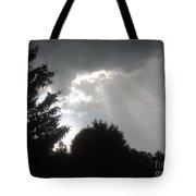 Hail Storm Clouds Tote Bag