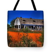 Hainesville Barn Color Tote Bag