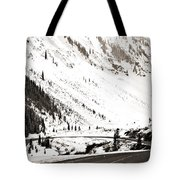 Hairpin Turn Tote Bag