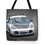 Hairy Dog Garrrage - Porsche - Pit Lane Tote Bag