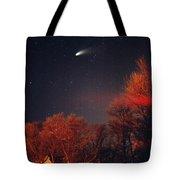 Hale-bopp Comet Tote Bag