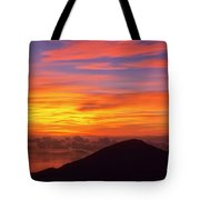 Haleakala Sunrise Colors IIi Tote Bag