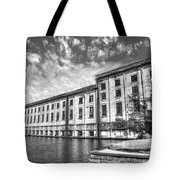 Hales Bar Dam B W Tennessee Valley Authority Tennessee River Art Tote Bag