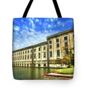 Hales Bar Dam Tennessee Valley Authority Tennessee River Art Tote Bag