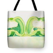 Half And Half Tote Bag