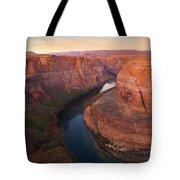Half Bend Sunrise Tote Bag