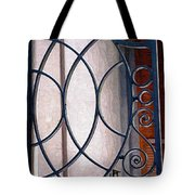 Half Circles On Iron Gate Tote Bag