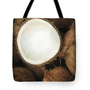 Half Coconut Tote Bag by Brandon Tabiolo - Printscapes
