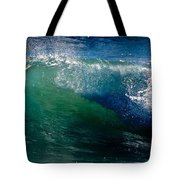 Half Cresting Wave Tote Bag