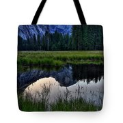 Half Dome At Sunrise Tote Bag