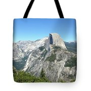 Half Dome From Inspiration Point Tote Bag