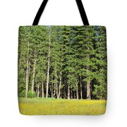 Half Dome Meadow Tote Bag