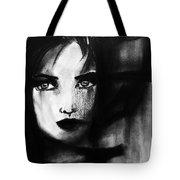 Half In The Shadows Tote Bag