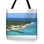 Half Moon Cay Tote Bag